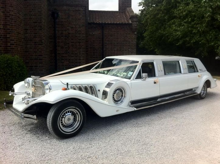 Excalibur Wedding Car