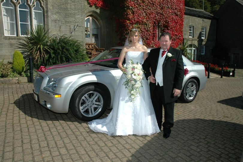 Silver Chrysler 300c