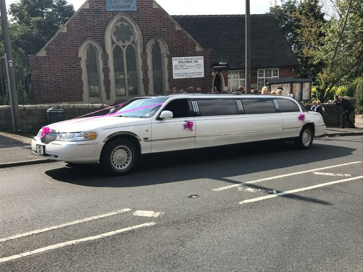 White Millennium Stretch Limo