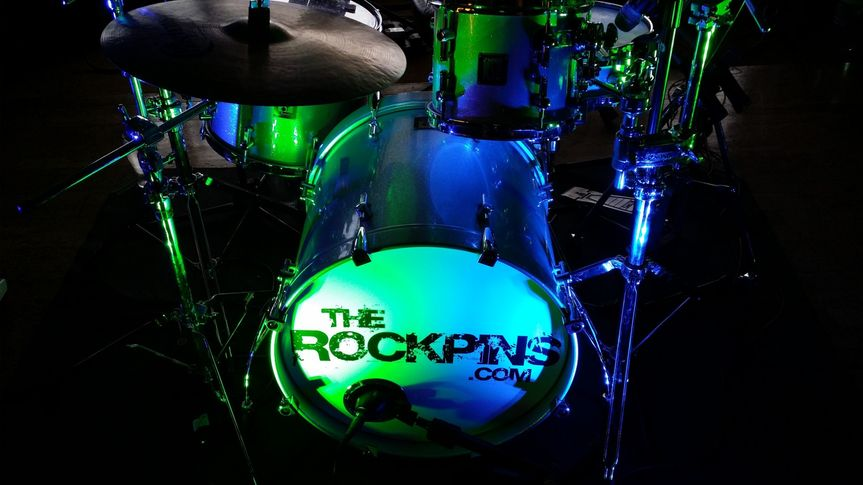 RockPins wedding band