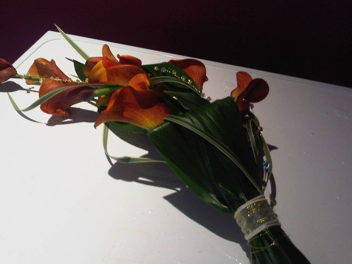 Calla Lilly bouquet