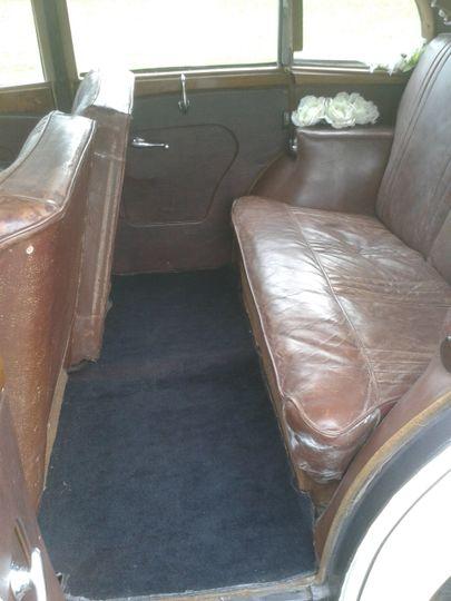 Rear compartment of Daimler Co