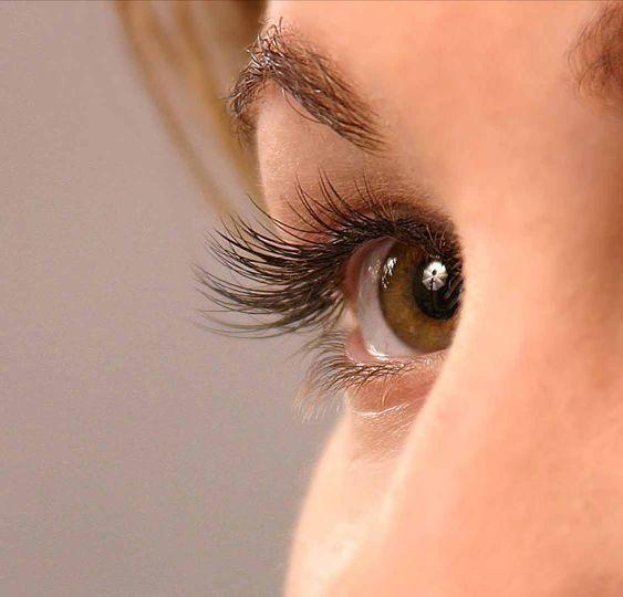 Beautiful lashes