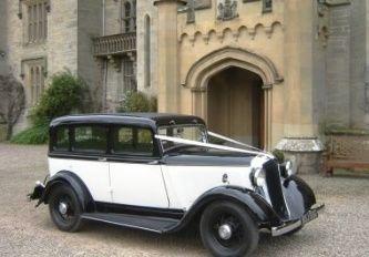 1933 Chrysler wedding car