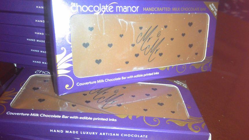 Mr&Mr 99.98% belgian chocolate