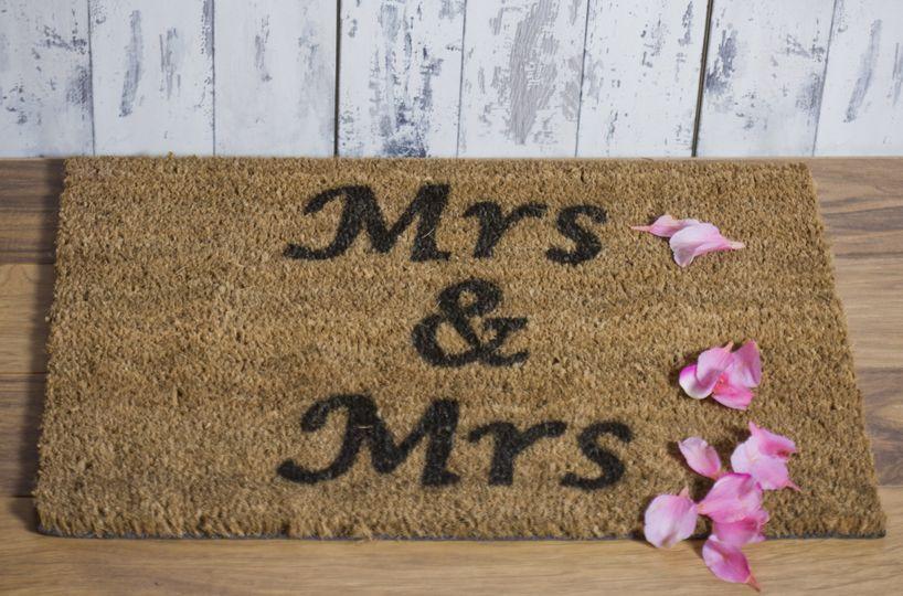 Mrs & Mrs Doormat