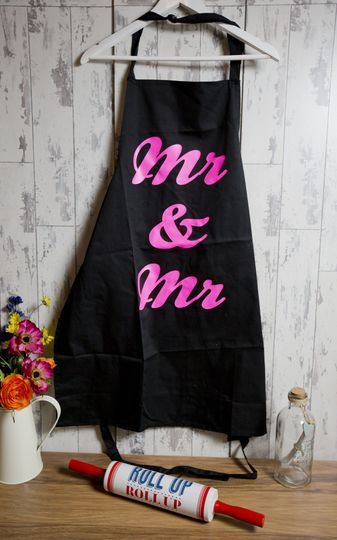 Mr & Mr Apron