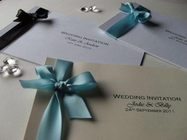 Something Blue Wedding Stationery