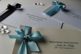 Something Blue Wedding Stationery