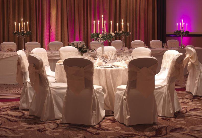 Roseberry Suite Wedding Setup