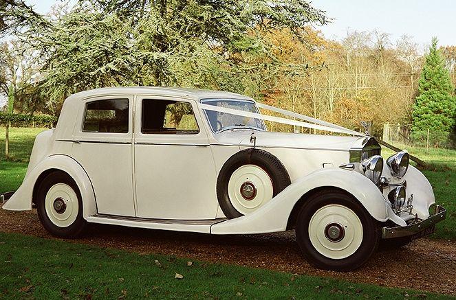 1936 Rolls-Royce bridal car