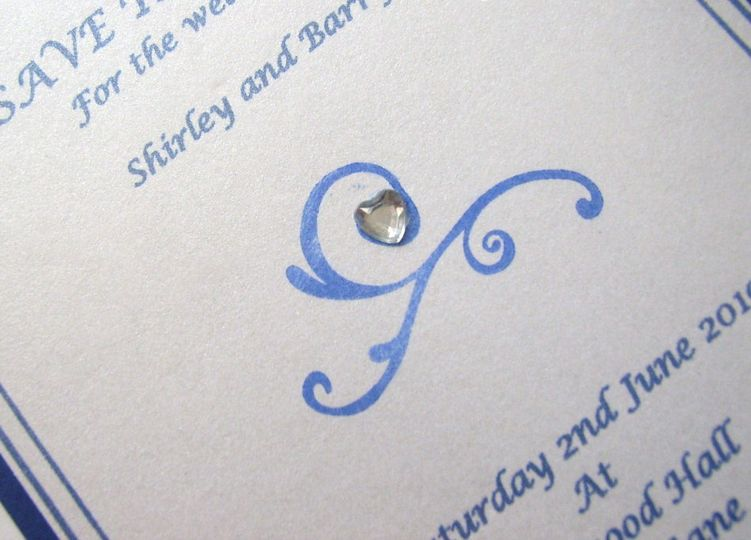 Amber invitations