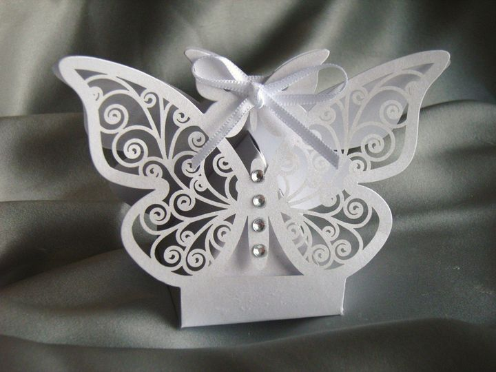 Butterfly favour