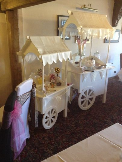 Vintage Candy Carts