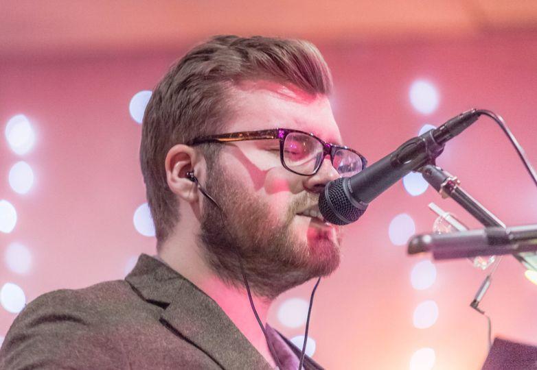 Stuart Fowler on vocals