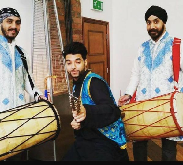 Dhol players in Halifax