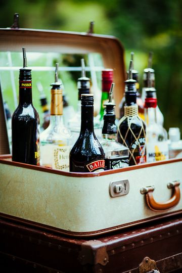 Bar Design - suitcase