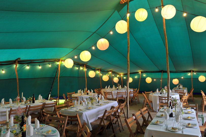 Wedding in Berber Tent