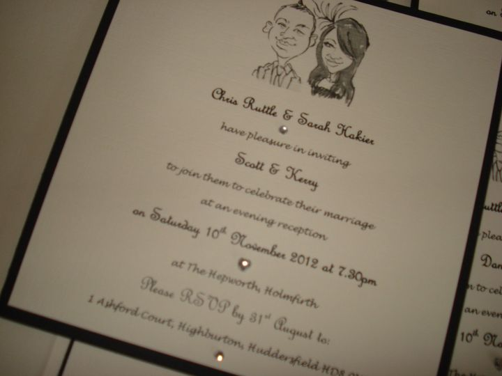 Personalised invitation