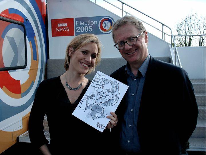 BBC News' Sophie Raworth