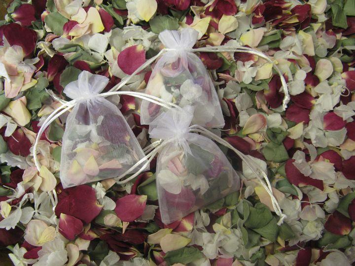 Bespoke petal bags