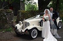 Fabulous wedding car