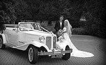 Exceptional wedding car