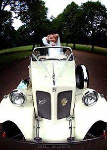 Superb wedding transportation