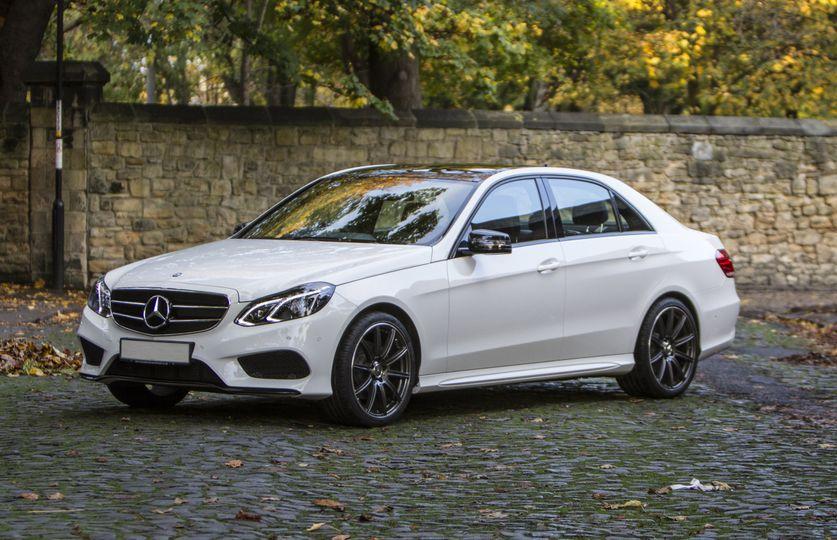 Mercedes-Benz Wedding Car