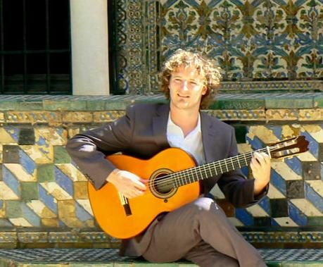 Talented wedding guitarist