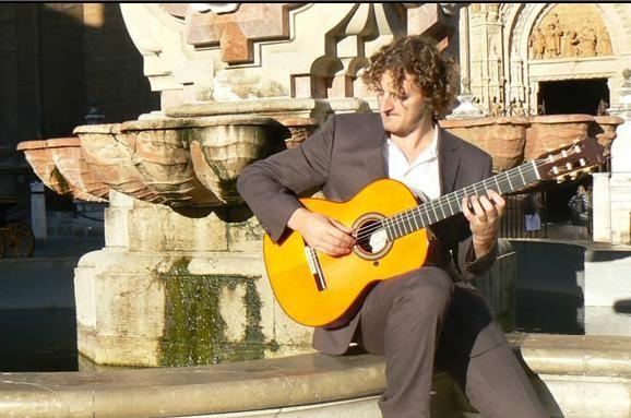 Wedding guitarist