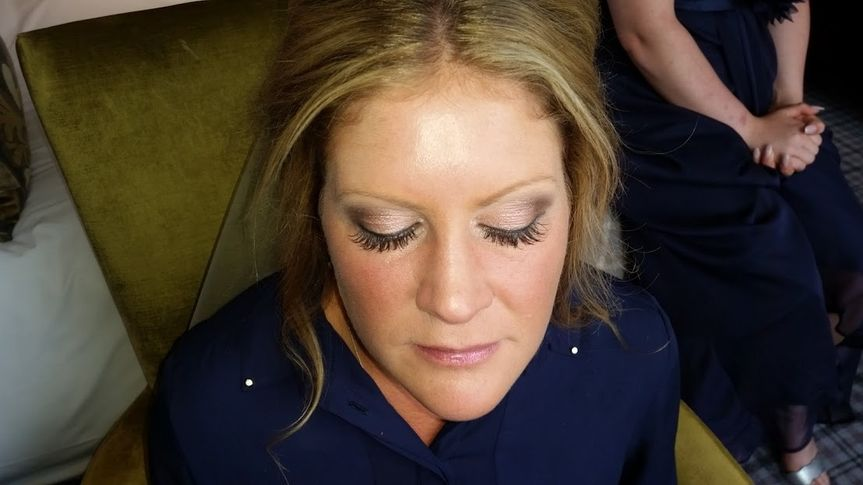 Melissa- smoky Bridal look