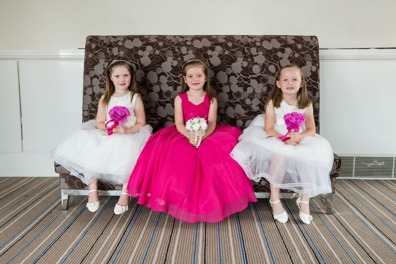 Young bridesmaids