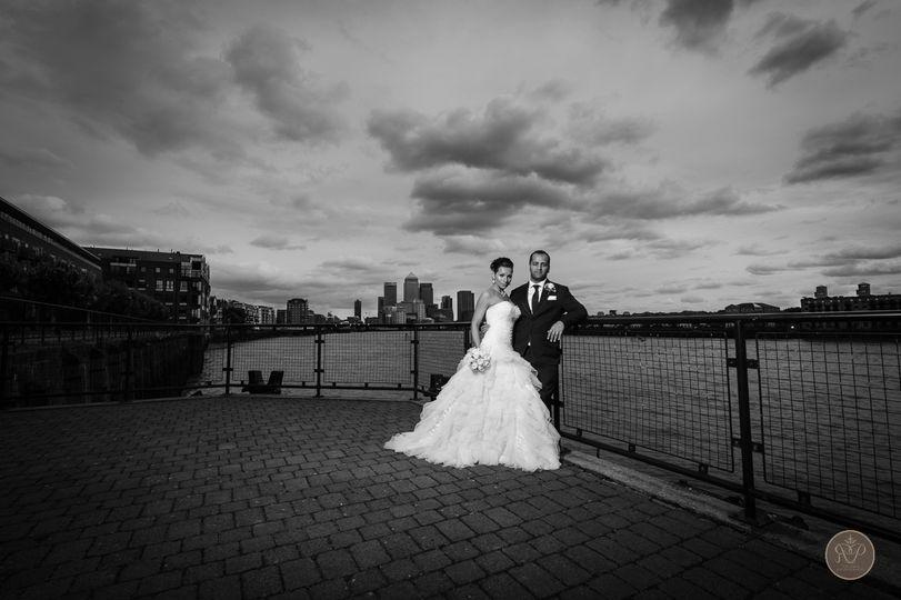Docklands wedding