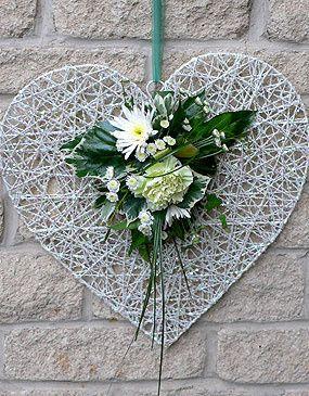 Decorative Floral Heart