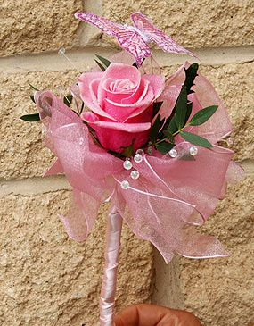 Flower Wand for Young Bridesmaid
