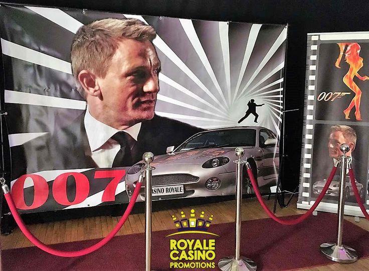 James Bond Casino Royale props
