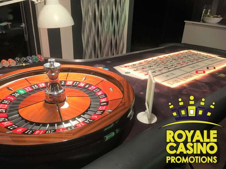 LED Roulette table
