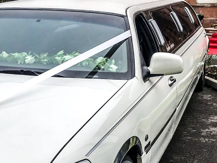 Side of limousine