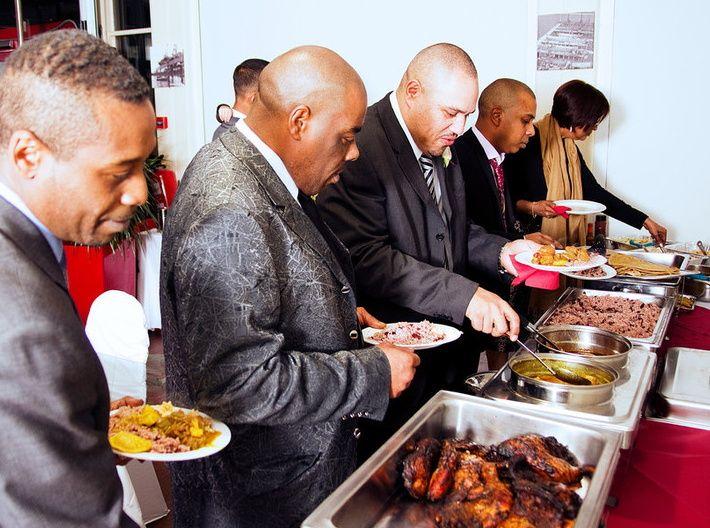 Caribbean Catering Beach Weddings: Caribbean Queen Caterers
