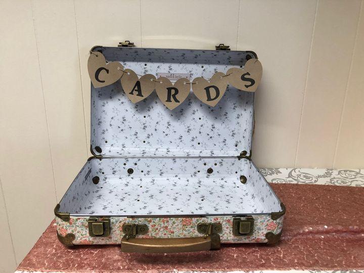 Vintage Cards Suitcase Hire