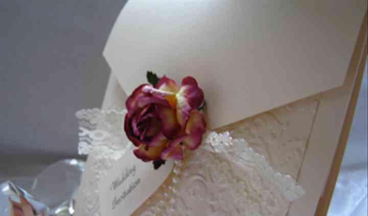 English Rose Invitation