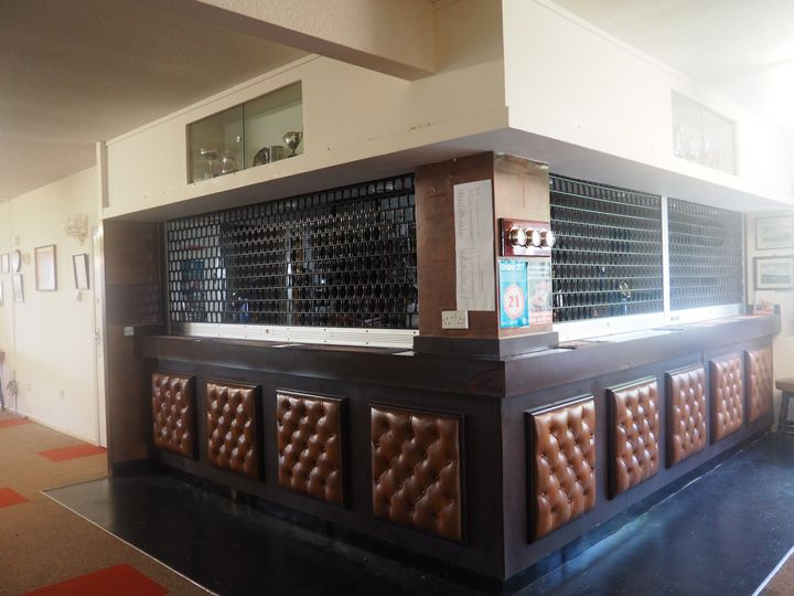 A view of the bar