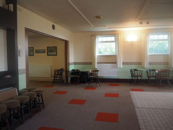 The river room & dance floor