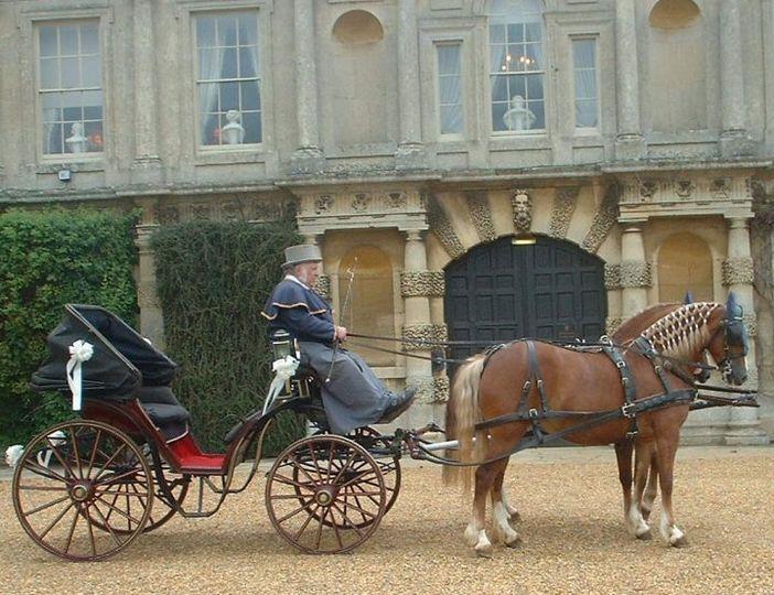 Victoria carriage