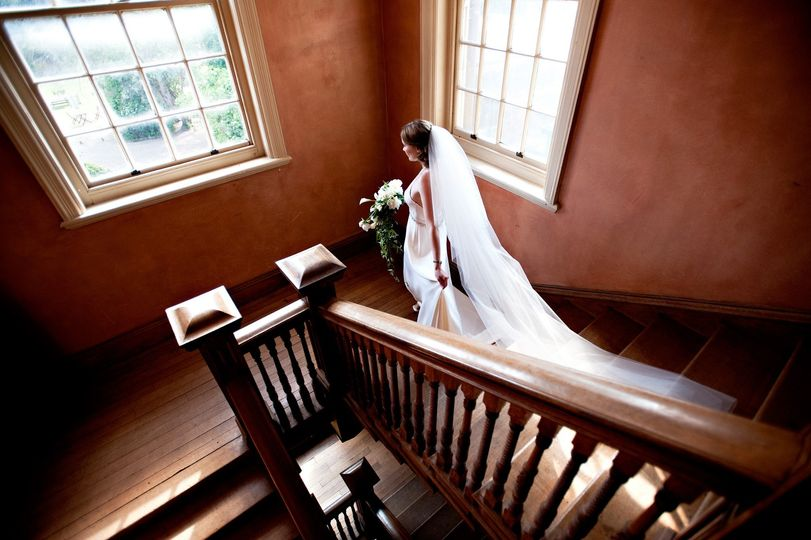 Bride walking to ceremony room