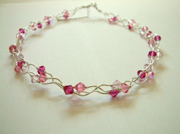 Crystal Tangle Necklace