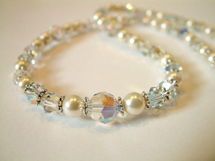 Snowdrift Swarovski Necklace