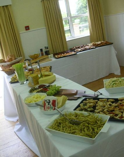 Presentation of catering