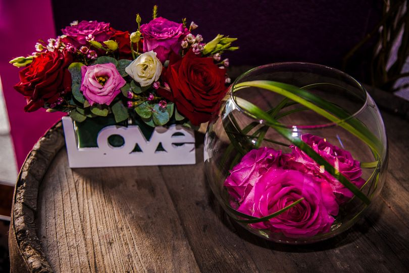 table arrangements from ooh la la flowers designs by